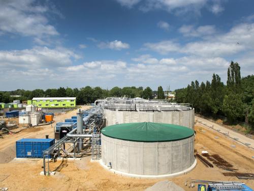 Rioolwaterzuivering Panheel in gebruik genomen