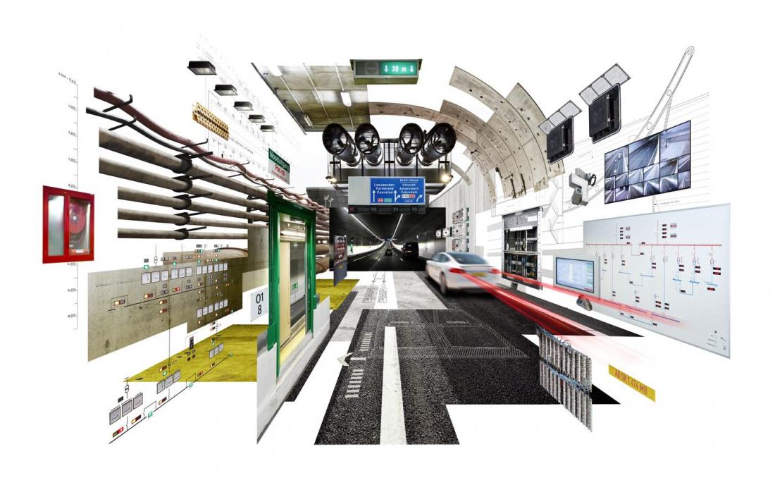 Croonwolter&dros levert integrale technologische infrastructuur oplossingen voor tunnels, bruggen en sluizen, stuwen en keringen.