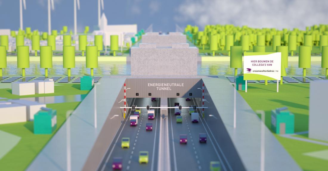 Ontdek welke oplossingen Croonwolter&dros inzet om tunnels energiezuiniger te maken.
