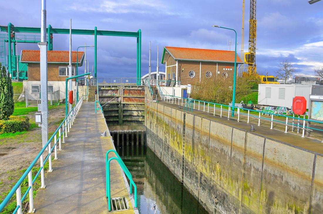 Croonwolter&dros en Hollandia startten in het eerste kwartaal van 2020 met de renovatie van de Urkersluis, want die kende de meeste storingen: zo'n honderd per jaar.