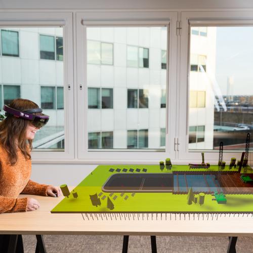 Hololens 3D maquette